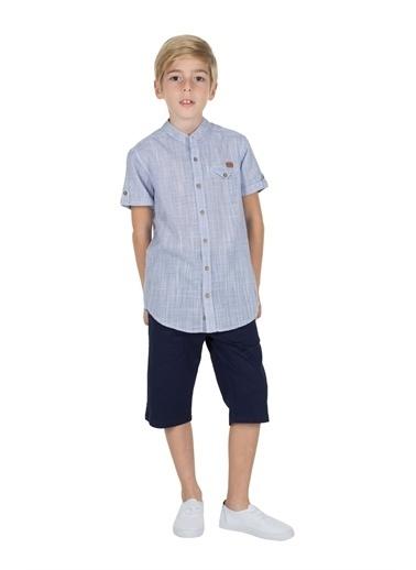 Silversun Kids Erkek Genç Cepli Şort Sc 315401 Lacivert